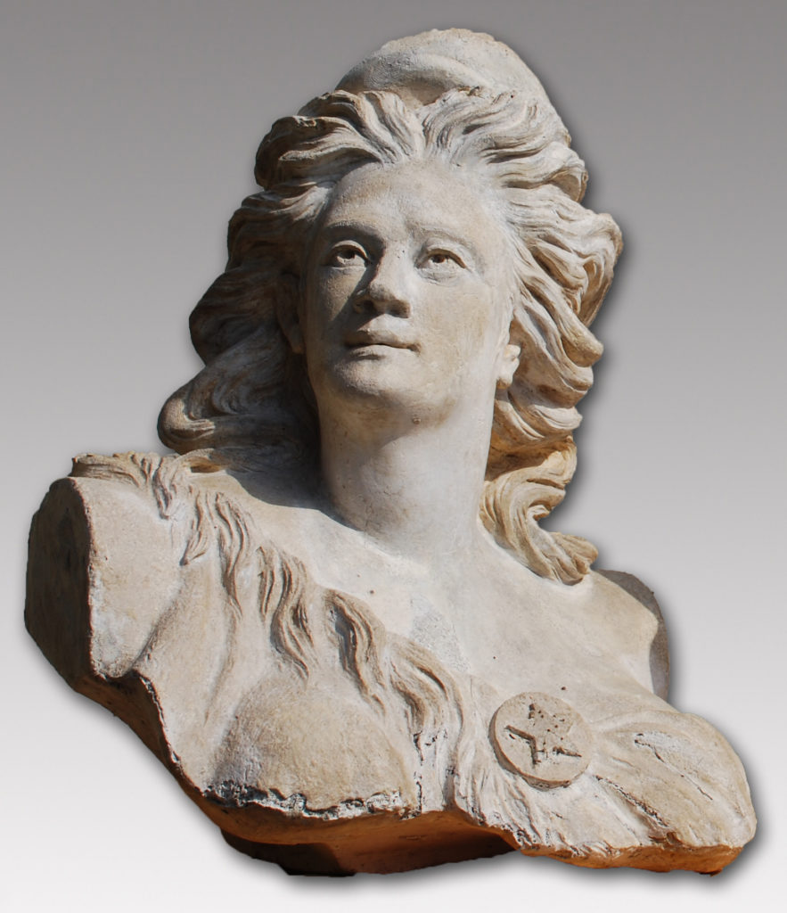 Final version of the cast of the bust, renamed La Liberté. Municipal records.