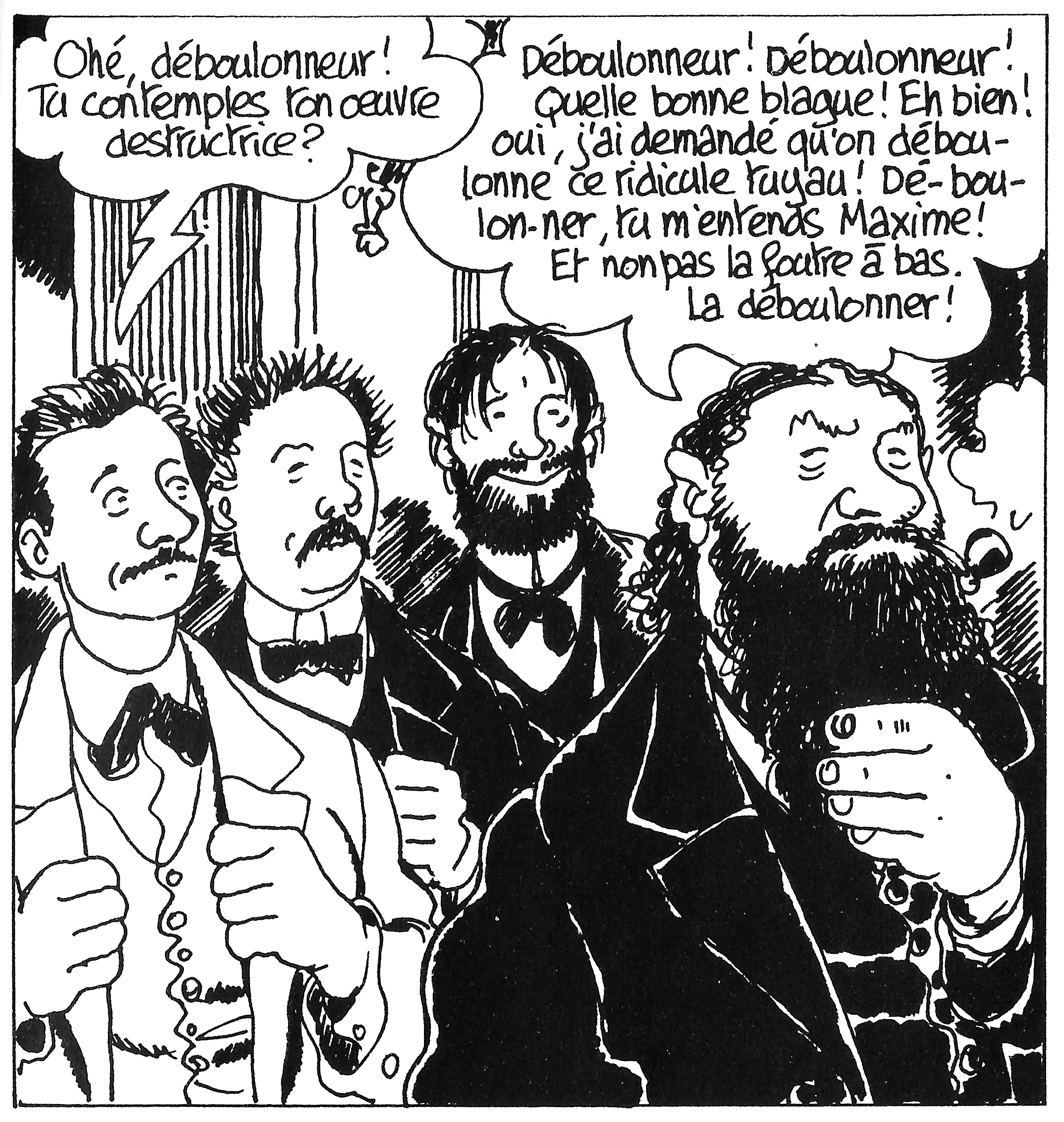 Jacques Tardi (drawing) et Jean Vautrin (storyline), Le Cri du peuple, 2 : L'Espoir assassiné, Casterman, 2004