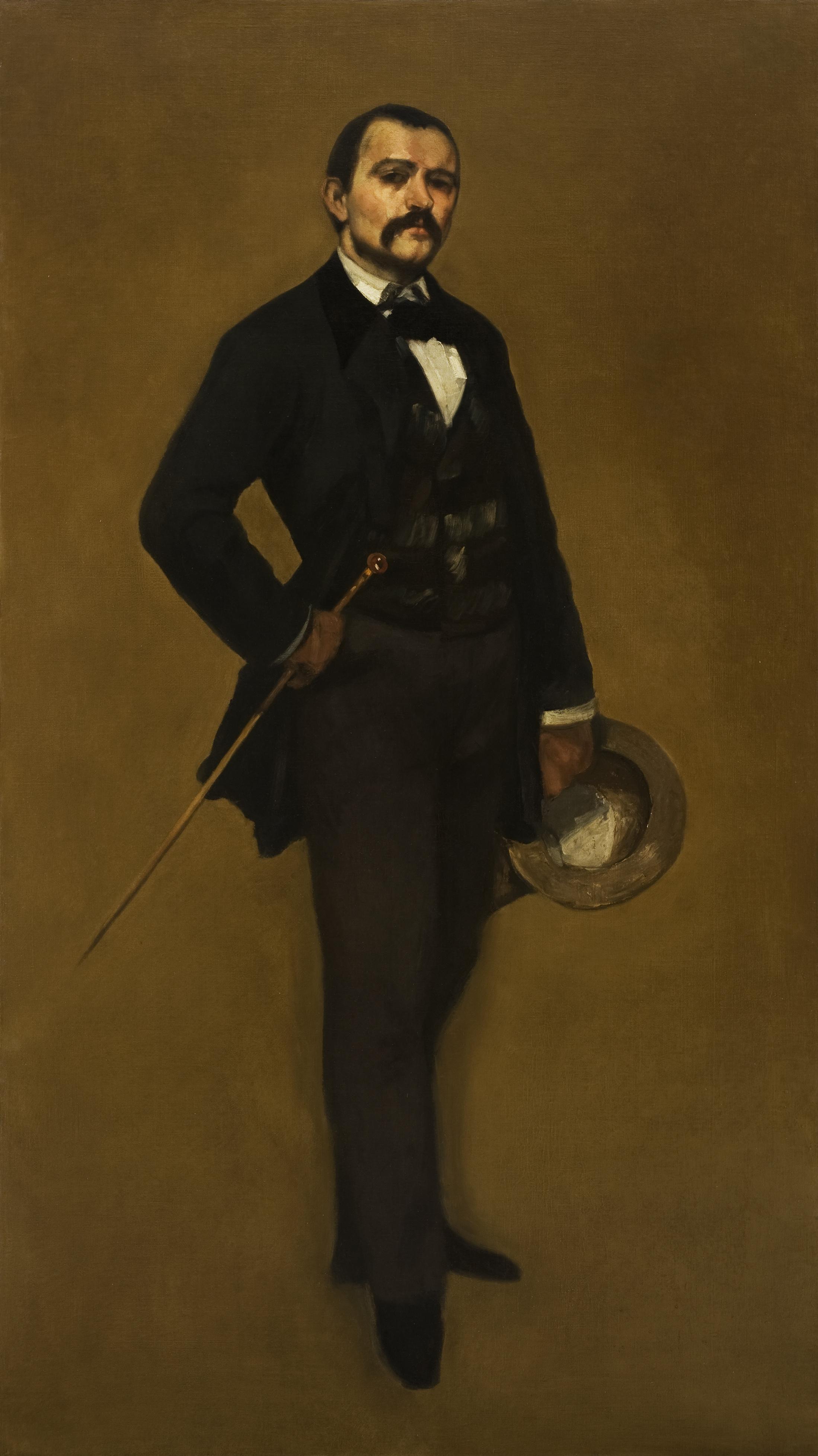 Gustave Courbet (Ornans 1819 - 1877 La Tour-de-Peilz) Portrait of Max Buchon, circa 1855. Musée Jenisch Vevey, donation of M. Edouard Baer-Monnet   © Musée Jenisch Vevey. Photos: Julien Gremaud