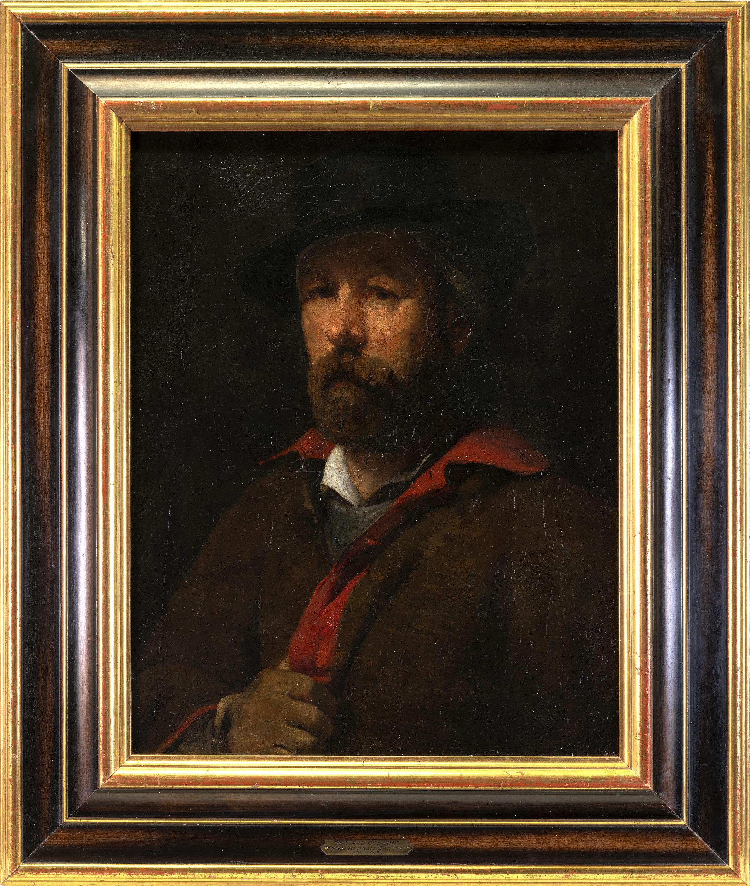Portrait du peintre Wilhelm Leibl, 1869-1870. © Musée Jenisch Vevey. Photos: Julien Gremaud