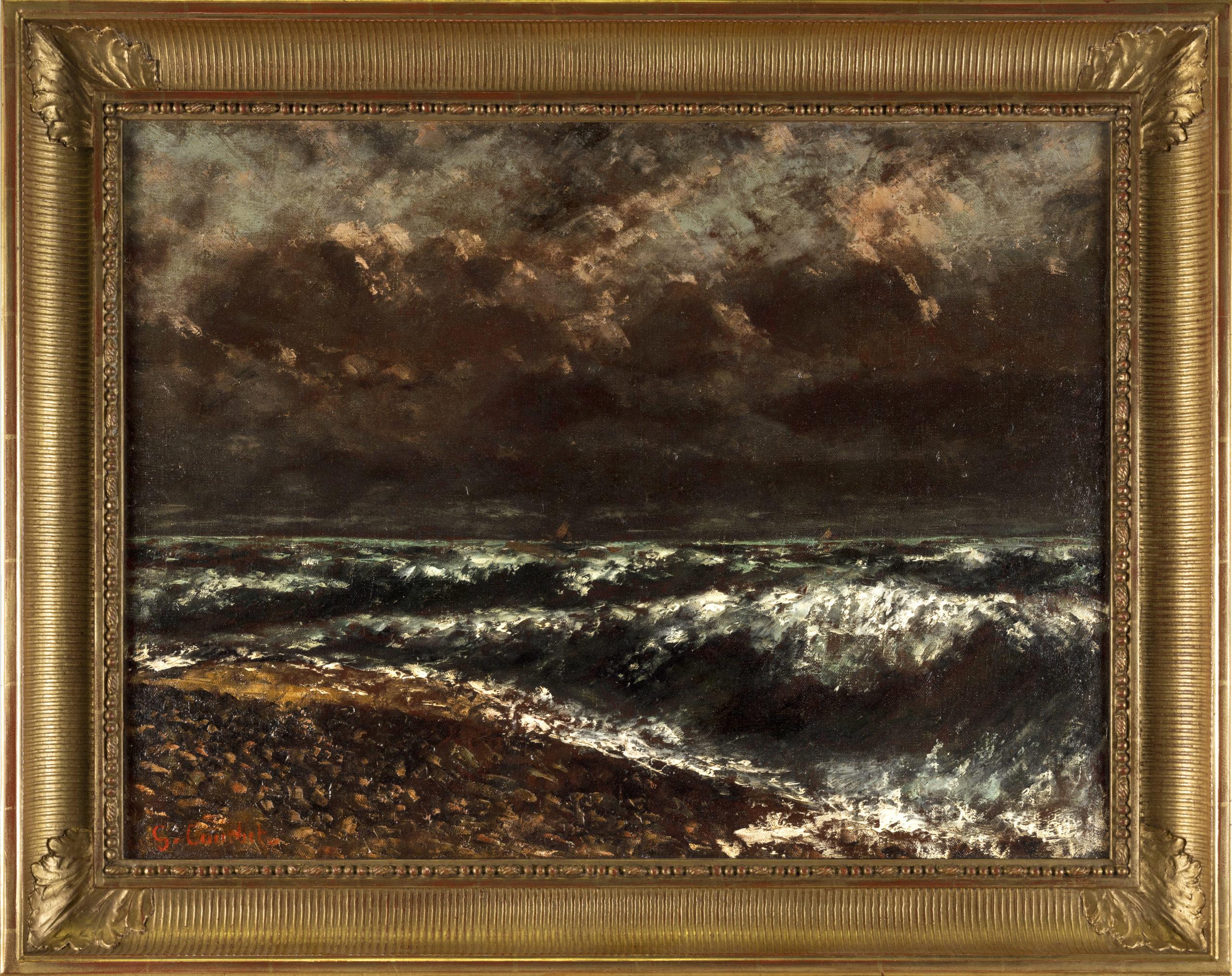 Welle auf dem Genfersee, 1877, Musée Jenisch Vevey  © Musée Jenisch Vevey. Photos: Julien Gremaud