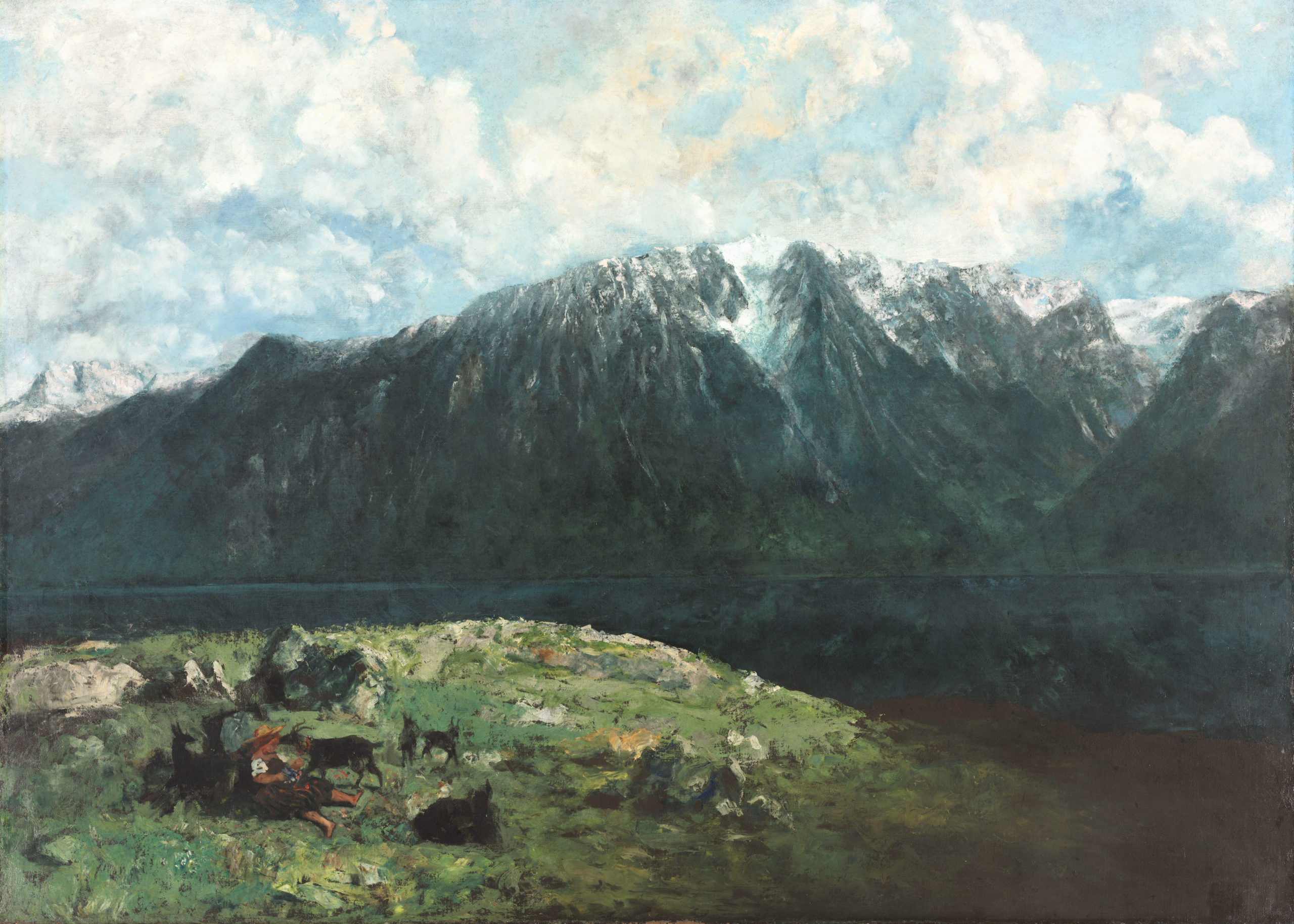 Grand Panorama des Alpes, les Dents du Midi, 1877, Cleveland, The Cleveland Museum of Art, domaine public.