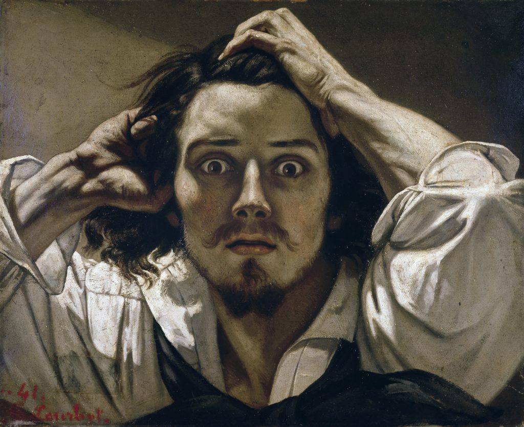 Le Désespéré, self-portrait, 1843-1845, Private collection Photo : © Luisa Ricciarini / Bridgeman Images