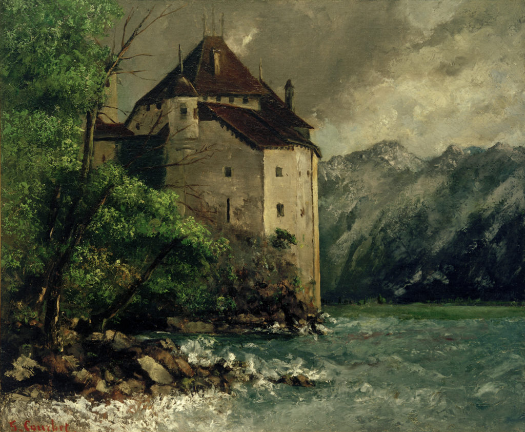 Château de Chillon, 1874. Fondation Corboud, Cologne.