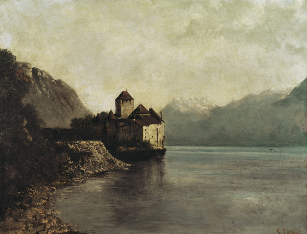 Schloss Chillon, 1874, Ornans, Musée Gustave Courbet, Photo : Pierre Guenat