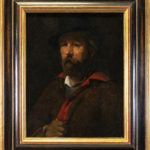 Ritratto del pittore Wihelm Leilbl, 1869-1870. ©Musée Jenisch Vevey. Foto : Julien Gremaud