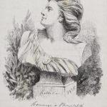 """""""Helvetia"""", 1875 Litografia su carta velina. Musée Jenisch Vevey – Gabinetto cantonale delle stampe, Collezione del cantone di Vaud"""